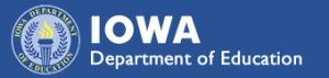 Iowa DE graphic